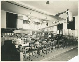 Carnegie Interior with Plane